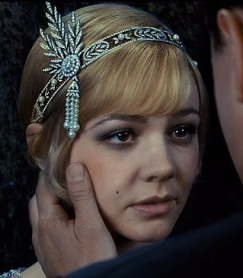 "Smoky eyeshadow look on Carey Mulligan in ""The Great Gatsby"""